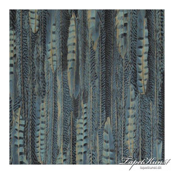 Curious - Feathers - Dark Blue
