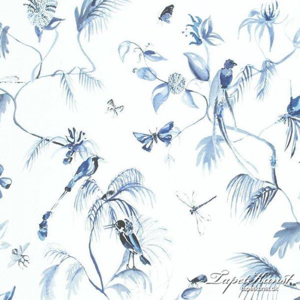 Metermål - Designed for Living - Birds - Blue