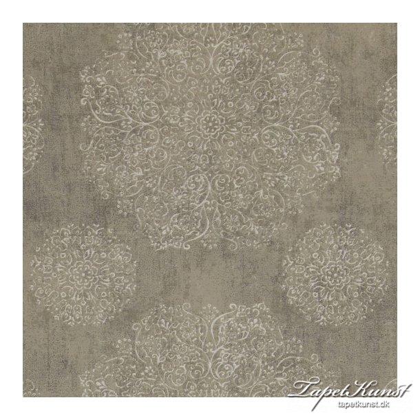 Indian Summer - Ornament Circles - Grey