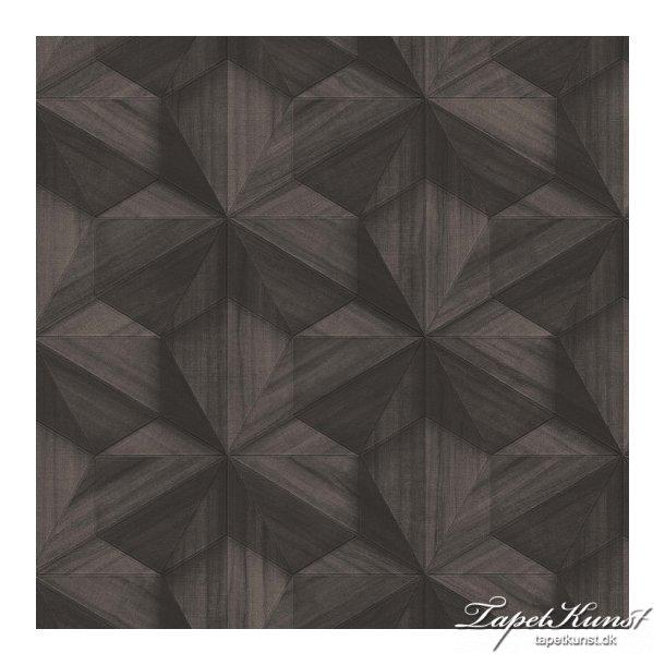 Loft - Graphic 3D - Brown Wood