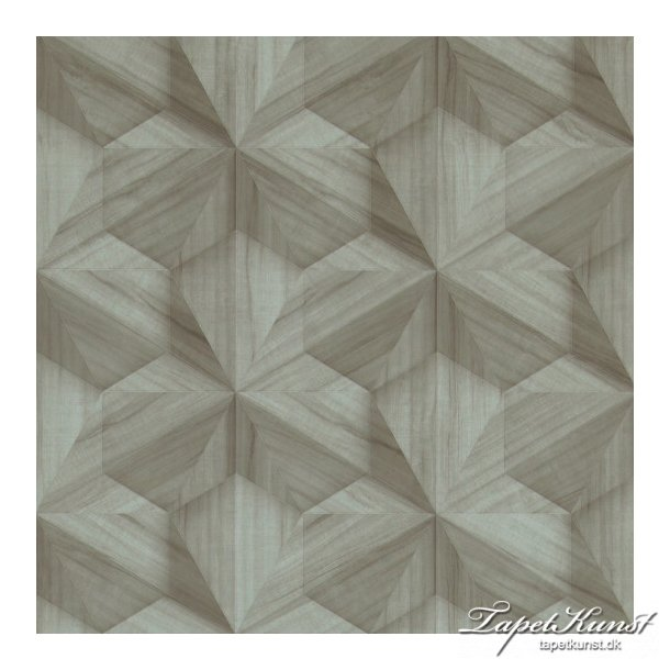 Loft - Graphic 3D - Mint Wood