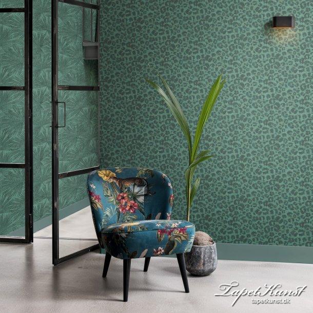 Leopard Spots - Green