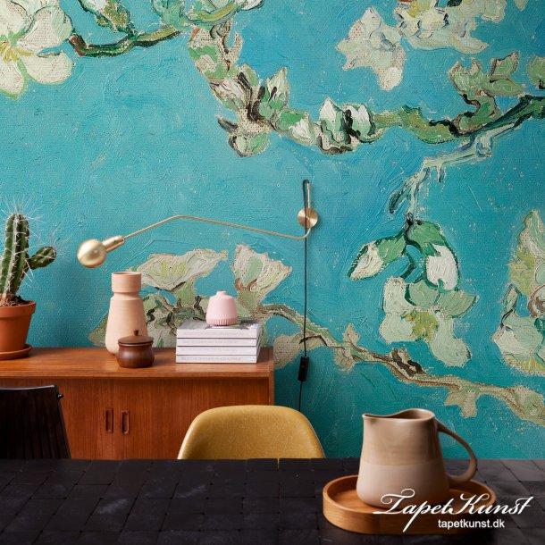 Almond blossom - Blue