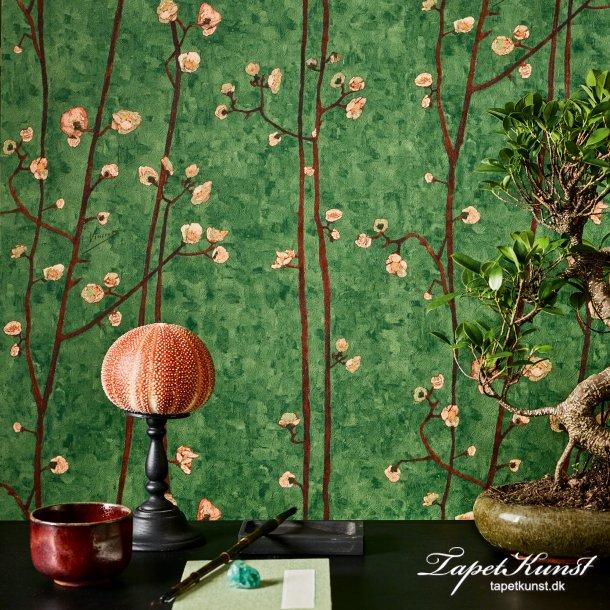 Flowering Plum Orchard - Green