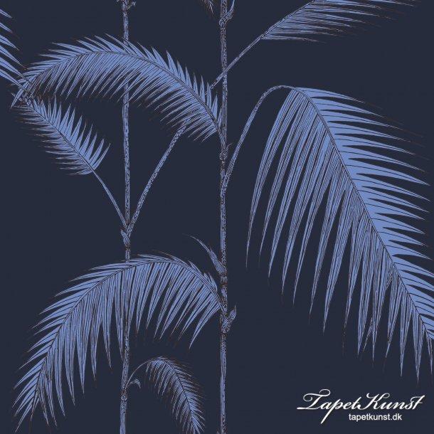 Palm Leaves - Ink & Violet