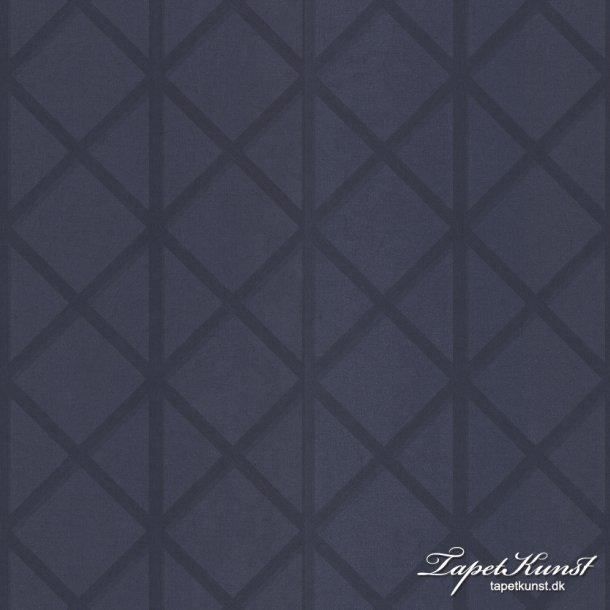 Metermål - Trellis - Blue Metermål 3313