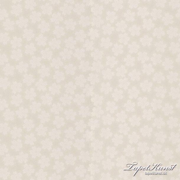 Metermål - Dottyflower - Dark Beige