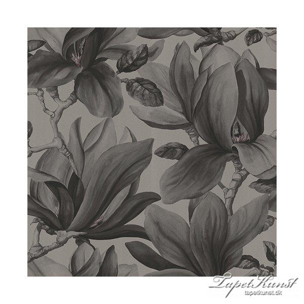 Metermål - Magnolia - Dark Grey