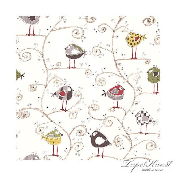 Metermål - Birds - Red