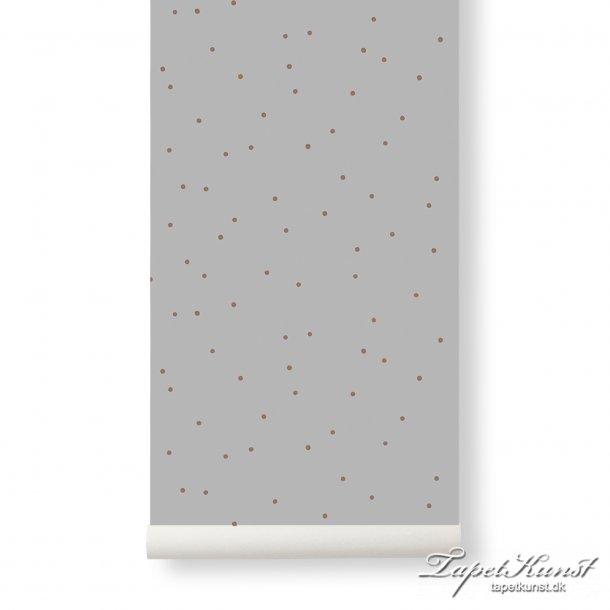 Dot Wallpaper - Grey