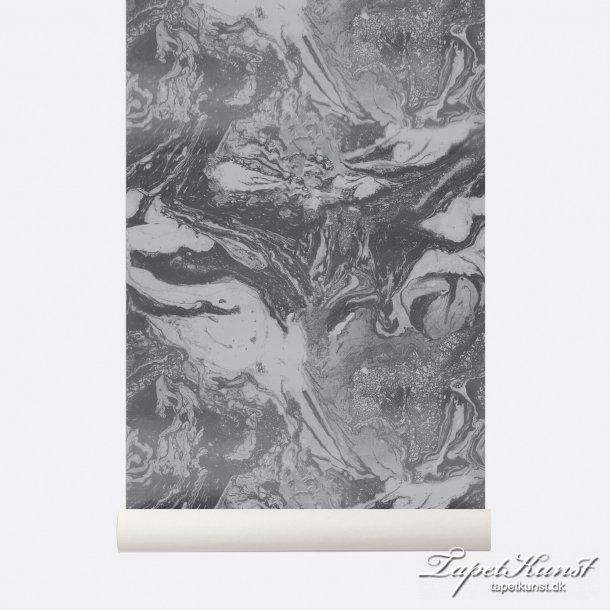 Marbling - Charcoal