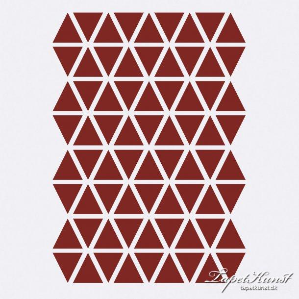 Mini Triangles - Red