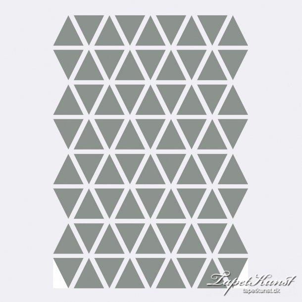 Mini Triangles - Grey