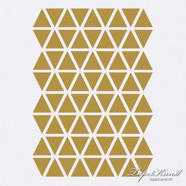 Mini Triangles - Brass