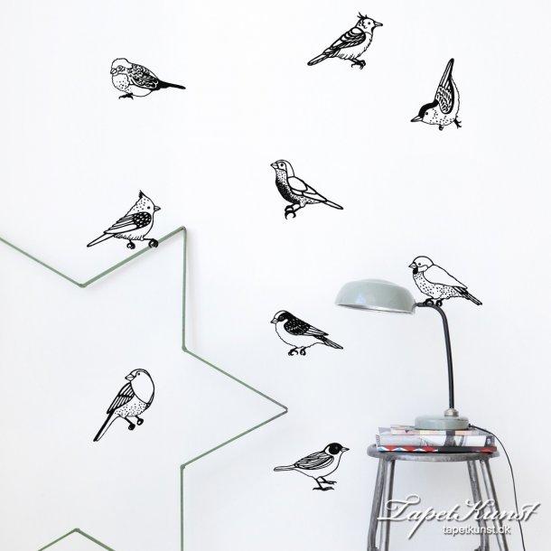 Ferm Sticker Drawing Birds