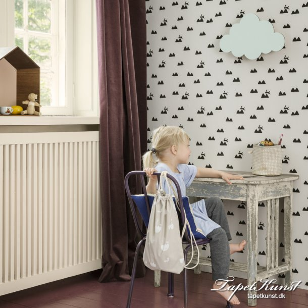 Metermål - Rabbit - Off White - Ferm 526