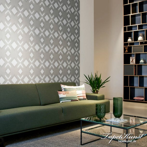 Tinted Tiles - Helix - Grey & Silver