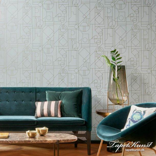 Tinted Tiles - Lush - Grey & Green