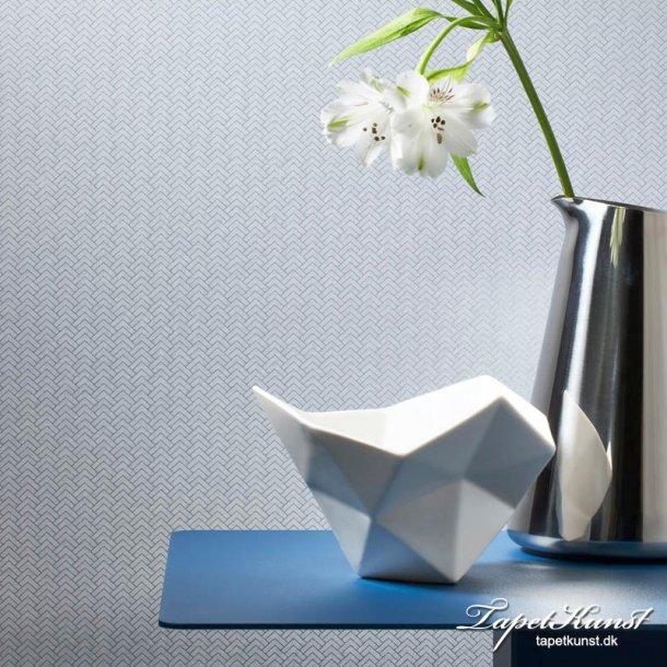 Tinted Tiles - Tangle - Silver & Grey
