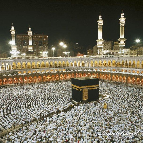 Kaaba at Night 8-110