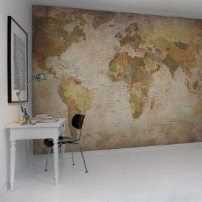 verdenskort tapet Verdenskort til væg   Køb et stort verdenskort tapet til hele væggen verdenskort tapet