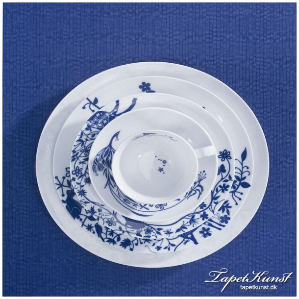 Metermål - Zia Plain Royal Blå