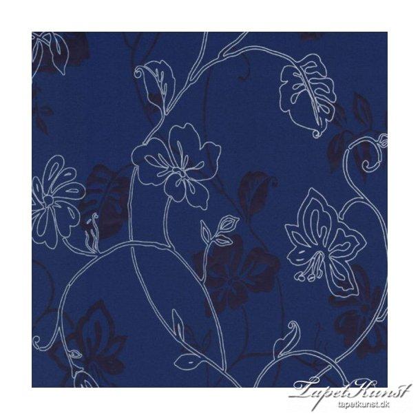 Jolly blomster blå