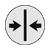 Tapet symbol - Mønstret matcher lige over