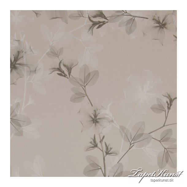 Delicate Flowers - Beige