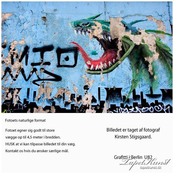 Graffiti Berlin Dragon U82