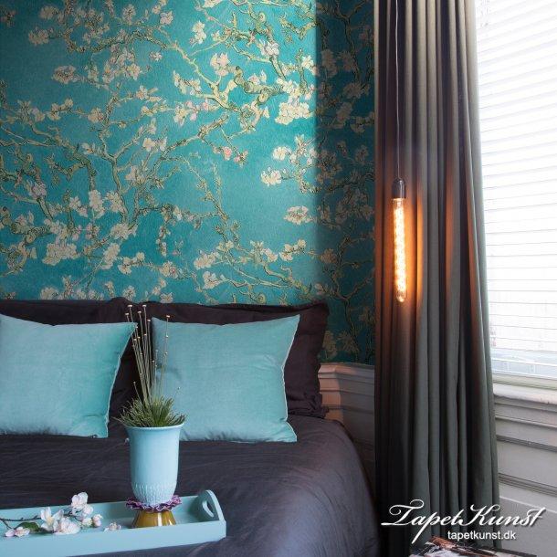 Metermål - Van Gogh - Almond Blossom - Blå